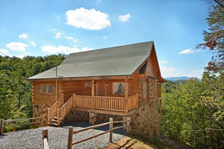 Shades of the Past: 2 Bedroom Pigeon Forge Cabin Rental