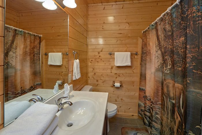 Cabin with 2 queen bedrooms and 1 King bedroom - Honey Bear