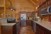 Fully stocked kitchen in 3 Bedroom Cabin
