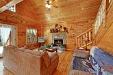 Country Cabin with Living Room