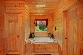 Jacuzzi Tub in Two Bedroom Cabin
