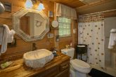 2 Bedroom Cabin with 2 Private Bathrooms
