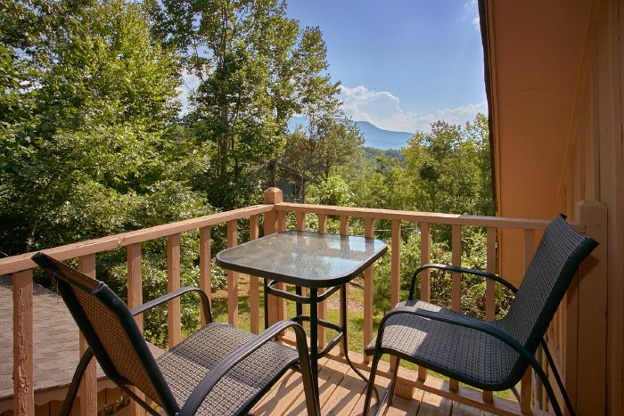 Cabin with Private Balcony and Mountain Views - Huckleberry Haven