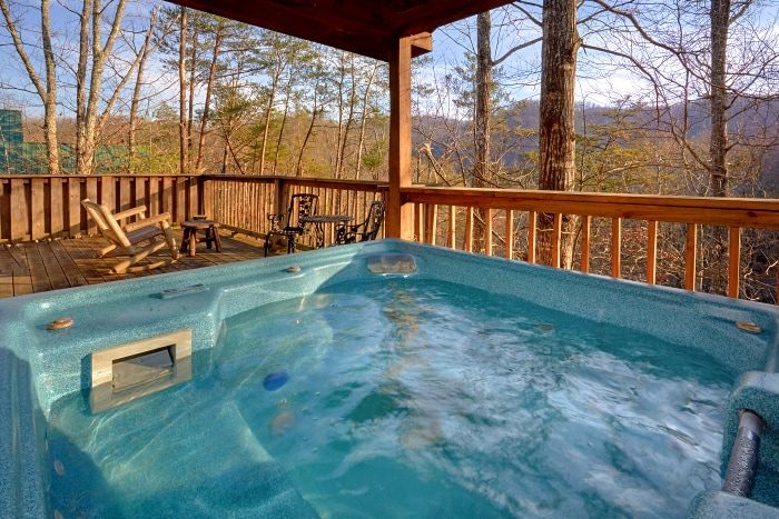 Secluded Honeymoon Cabin with Hot Tub - I Don't Want 2 Leave