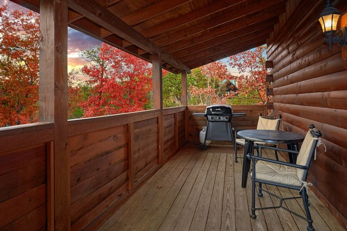 Pigeon Forge Cabin with a Gas Grill on the Deck - It's About Time