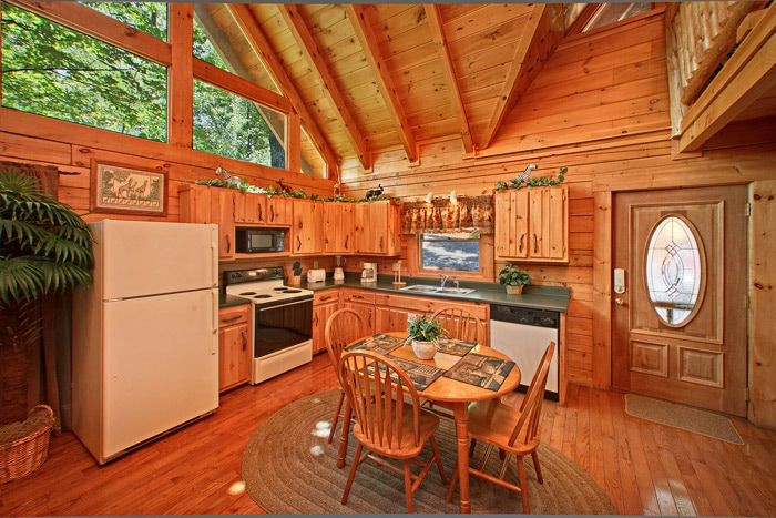 Cabin with Fully Furnished Kitchen - Jungle Boogie