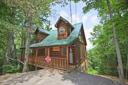 A Lovers Hideaway: 1 Bedroom Wears Valley Cabin Rental