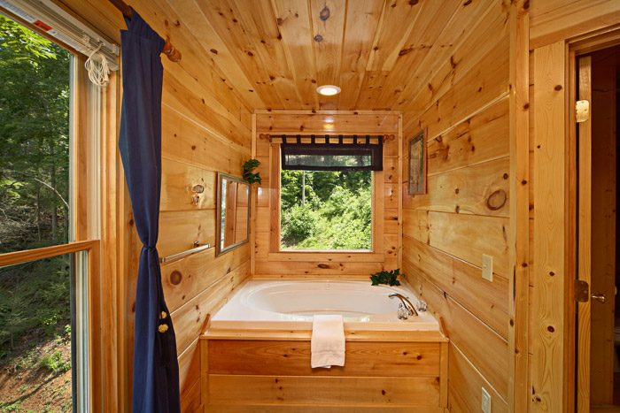 Gatlinburg Cabin with Indoor Jacuzzi Tub - Just Relax