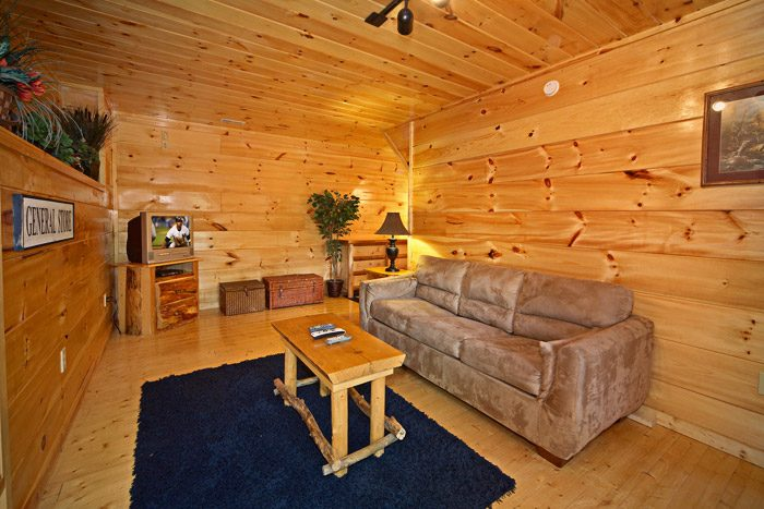 Cabin with Downstairs Game Room and Den - Just Relax