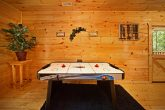 Cabin in the Smokies with Air Hockey Table
