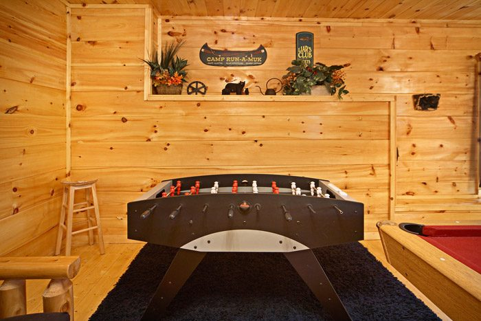 Gatlinburg Cabin with Foosball Table - Just Relax