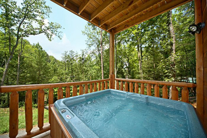 Smoky Mountain Cabin Rental with Hot Tub - Just Relax