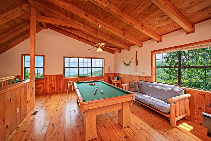 Loft are with Game Table and Futon - Kayla's Hideaway