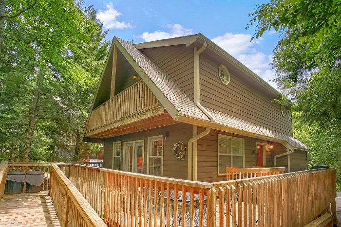 4 Bedroom Pigeon Forge Cabin Happy Trails