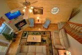 Luxury Cabin with Stone Gas Fireplace