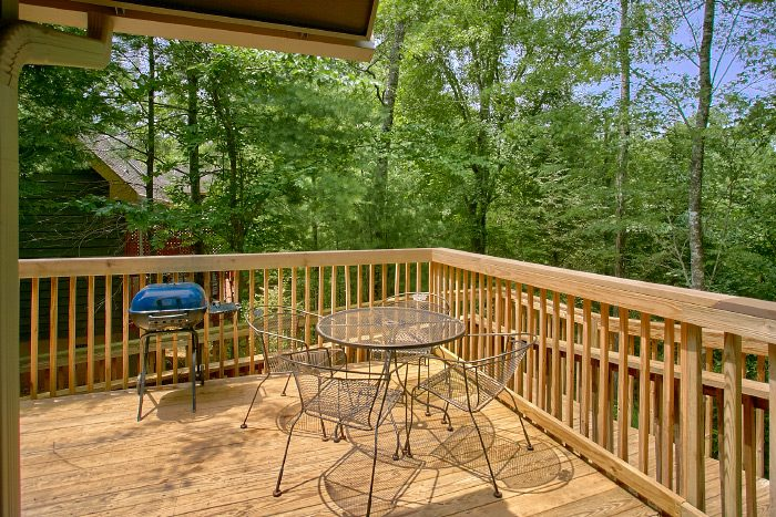 Luxury Cabin with Furnished Deck - Kickin Back