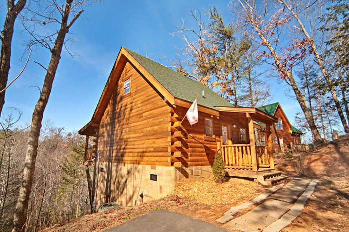 Cabin Rental Near Pigeon Forge Smoky Mountain Cabin