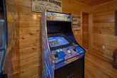 Cabin with Multiple Arcade Games in Game Room