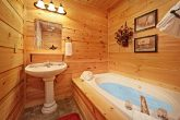 Cabin Bathroom with Jacuzzi