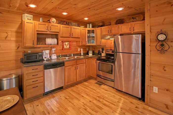 Gatlinburg 3 Bedroom Cabin with Full Kitchen - Laurel Creek