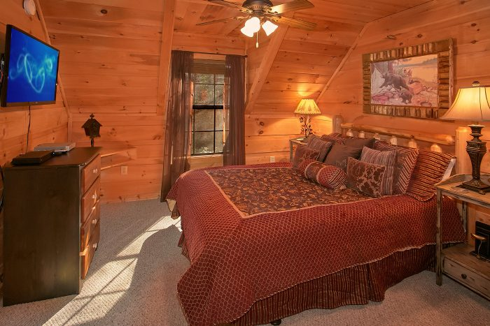 Luxury 3 Bedroom Cabin with 3 King Bedrooms - Laurel Creek