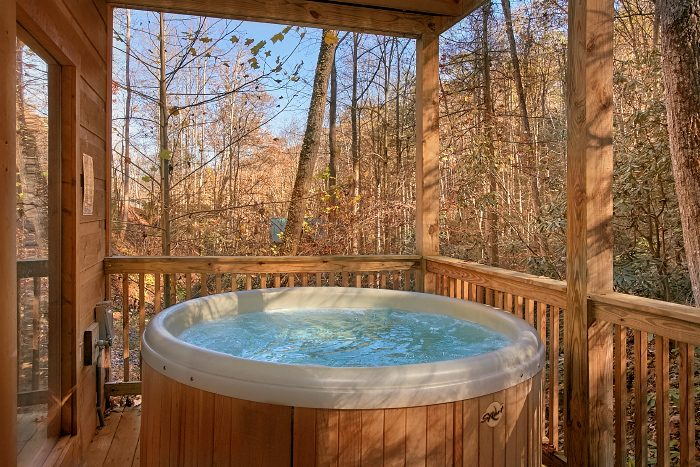 Gatlinburg Cabin with Private Hot Tub - Laurel Creek