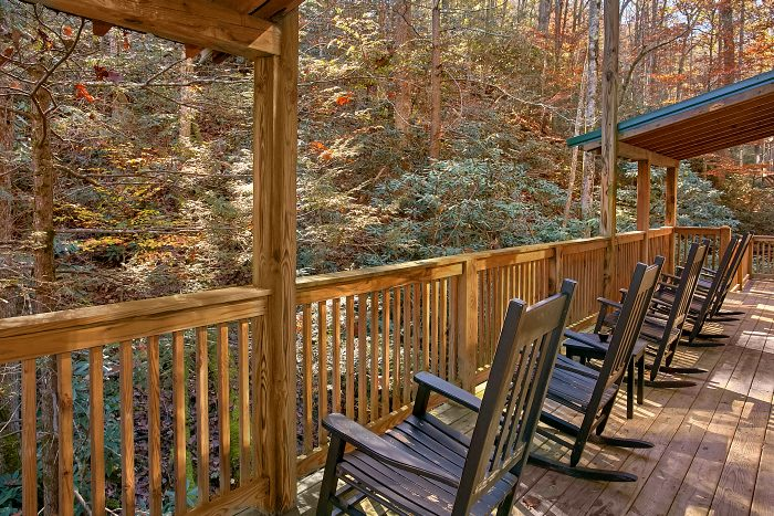 3 Bedroom Cabin with wooded Views from deck - Laurel Creek