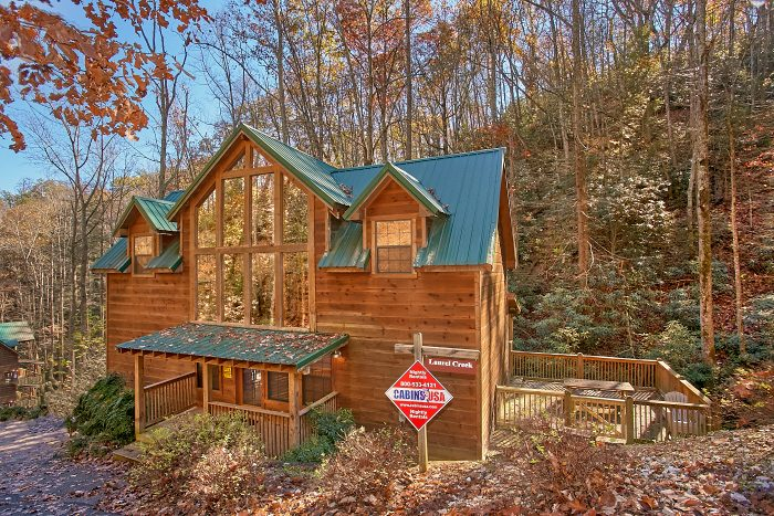 Gatlinburg 3 Bedroom Cabin with 3 Master Suites - Laurel Creek