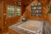 1 Bedroom Cabin with Indoor Jacuzzi Tub