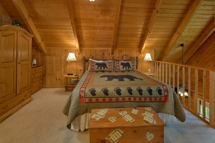 1 Bedroom Honeymoon Cabin in Wears Valley - Lazy Retreat