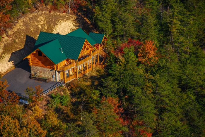 Bon ... Luxurious Cabin With View Of The Smoky Mountains   Lodge Mahal
