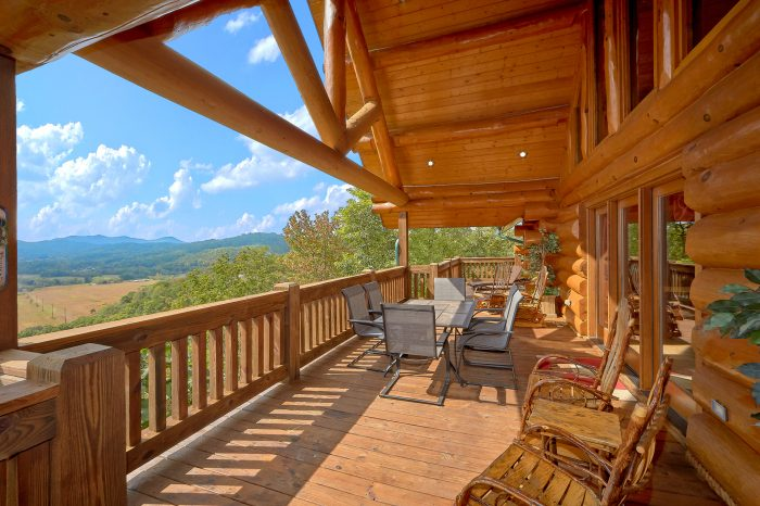 Premium Luxury Cabin with Mountain Views - Lodge Mahal