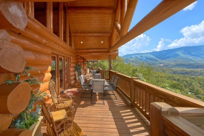 Premium Cabin with Private Deck and VIews - Lodge Mahal