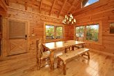 Cabin with Dining Room Table with Bench Seats