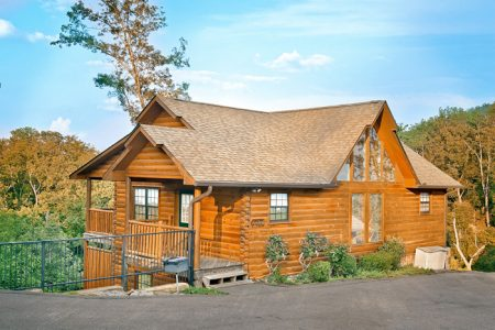 A Castle in the Clouds: 4 Bedroom Gatlinburg Cabin Rental