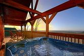 Luxurious Outdoor Hot Tub with Breathtaking View