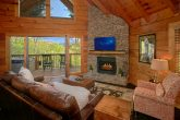 Luxury 2 Bedroom Cabin with Stone Fireplace