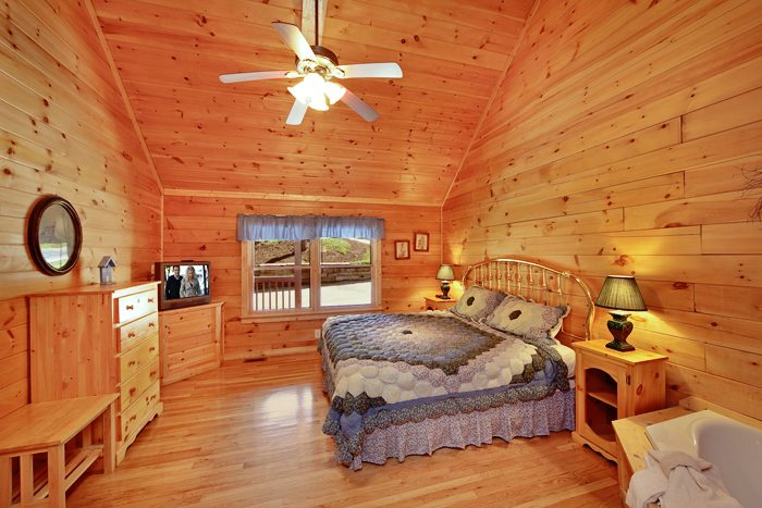 Cozy 1 Bedroom Cabin near Downtown Pigeon Forge - It's About Time