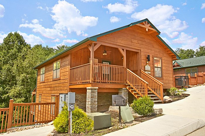 bear cove falls resort pigeon forge cabin rental near