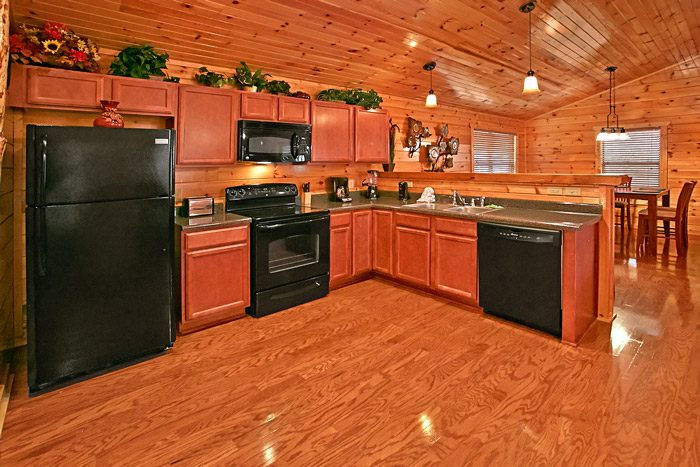 Fully Furnished Kitchen in the Smokies - Made in the Shade