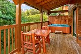 Pigeon Forge Cabin with Outdoor Hot Tub