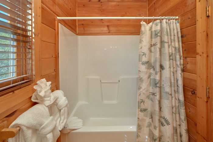 3 bedroom cabin with private master bathroom - Memory Maker