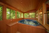 Pigeon Forge Cabin with Screened in Hot Tub