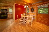 Rustic Cabin with Dining Room Table for 4