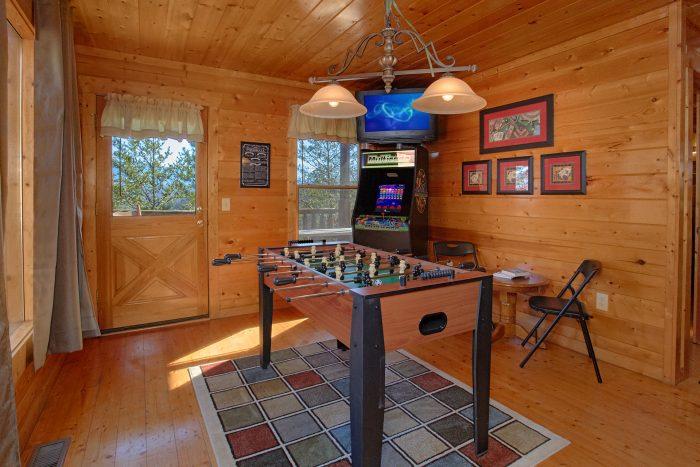 Game Room wit Card Table Door to Deck - Moonglow