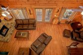 5 bedroom cabin with large TV and sitting area