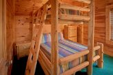 Cabin with 2 sets of Queen bunk beds