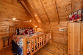 Pigeon Forge Cabin with King Log Bed