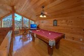 Pigeon Forge 3 Bedroom Cabin with Loft Game Room