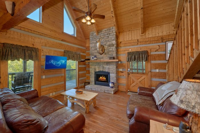 2 Bedroom cabin with a fully stocked kitchen - Mountain Glory